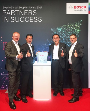 Nidec Receives Bosch Global Supplier Award | Nidec Corporation